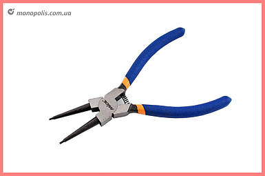 Щипцы для стопорных колец Miol - 160 мм, прямые-сжим