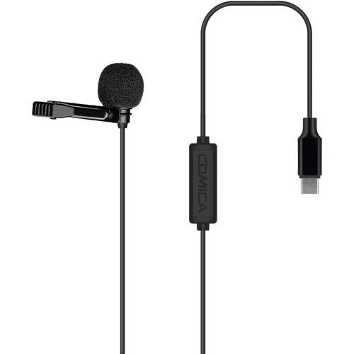 Микрофон Comica Audio CVM-V01SP(UC) Omnidirectional USB Type-C Lavalier Microphone Android(CVM-V01SP(UC)(2.5M)