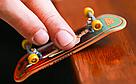 Премиум Пальчиковый скейт 1 шт. Металлические Пальчиковый фингерборды, фото 4
