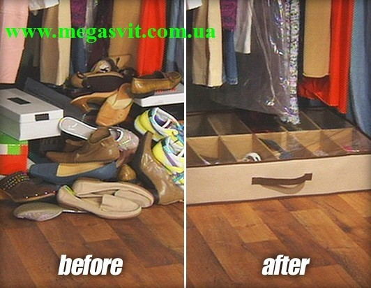 Органайзер для хранения обуви Шузандер shoes under