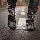 Мужские кроссовки Louis Vuitton Men's Sneakers Black / Луи Витон Черные, фото 7