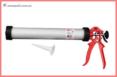 Пистолет для силикона Intertool - тубус 375 мм х 600 мл