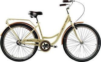 """Дамський Велосипед ARDIS Messina 26"""" 17"""" Бежевий / Міський / Гібрид"""