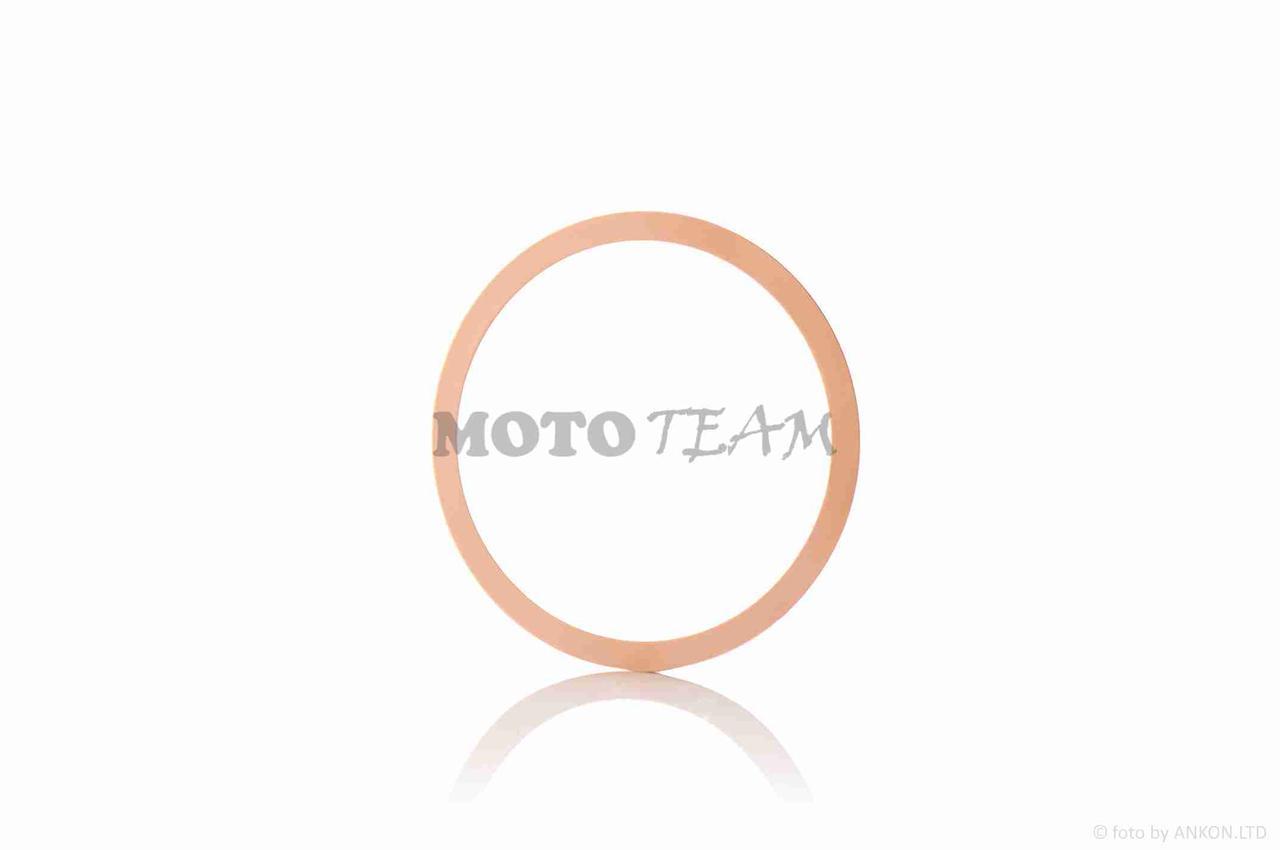 Прокладка головки цилиндра  Ява 6V  медная  (1 шт)