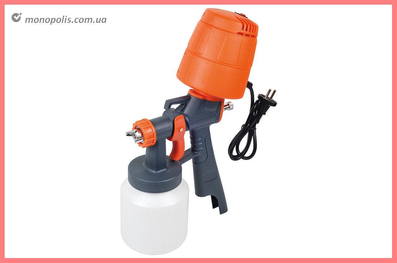 Краскопульт электрический HVLP Miol - 400 Вт, 1000 мл