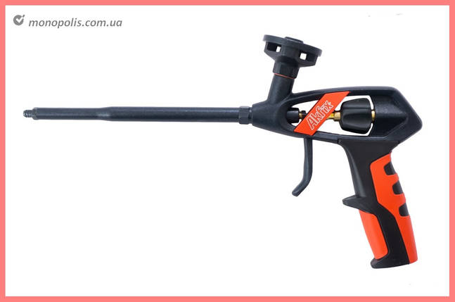 Пистолет для пены Akfix - 330 мм тефлон PRO, фото 2