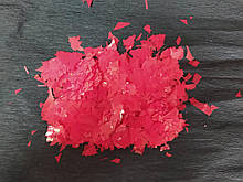 Аксесуари для свята конфеті мішура червоний 100грам