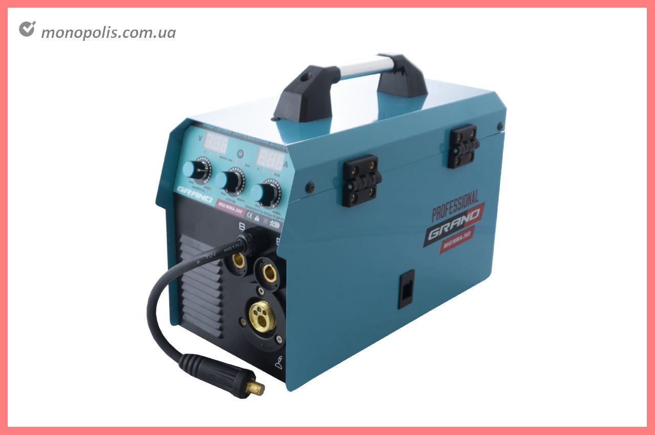 Зварювальний напівавтомат Grand - MIG/ММА-360