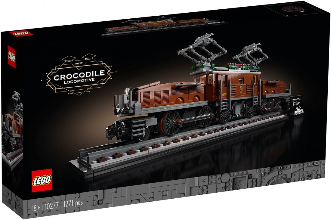 Lego Creator Expert Локомотив Крокодил 10277