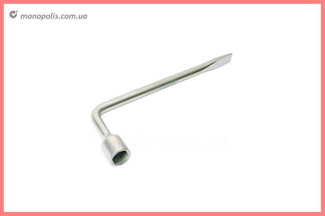 Ключ баллонный L-образный Сила - 19 x 350 мм, фото 2