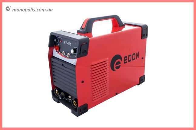 Сварочный инвертор 3-в-1 Edon - CT-420, фото 2