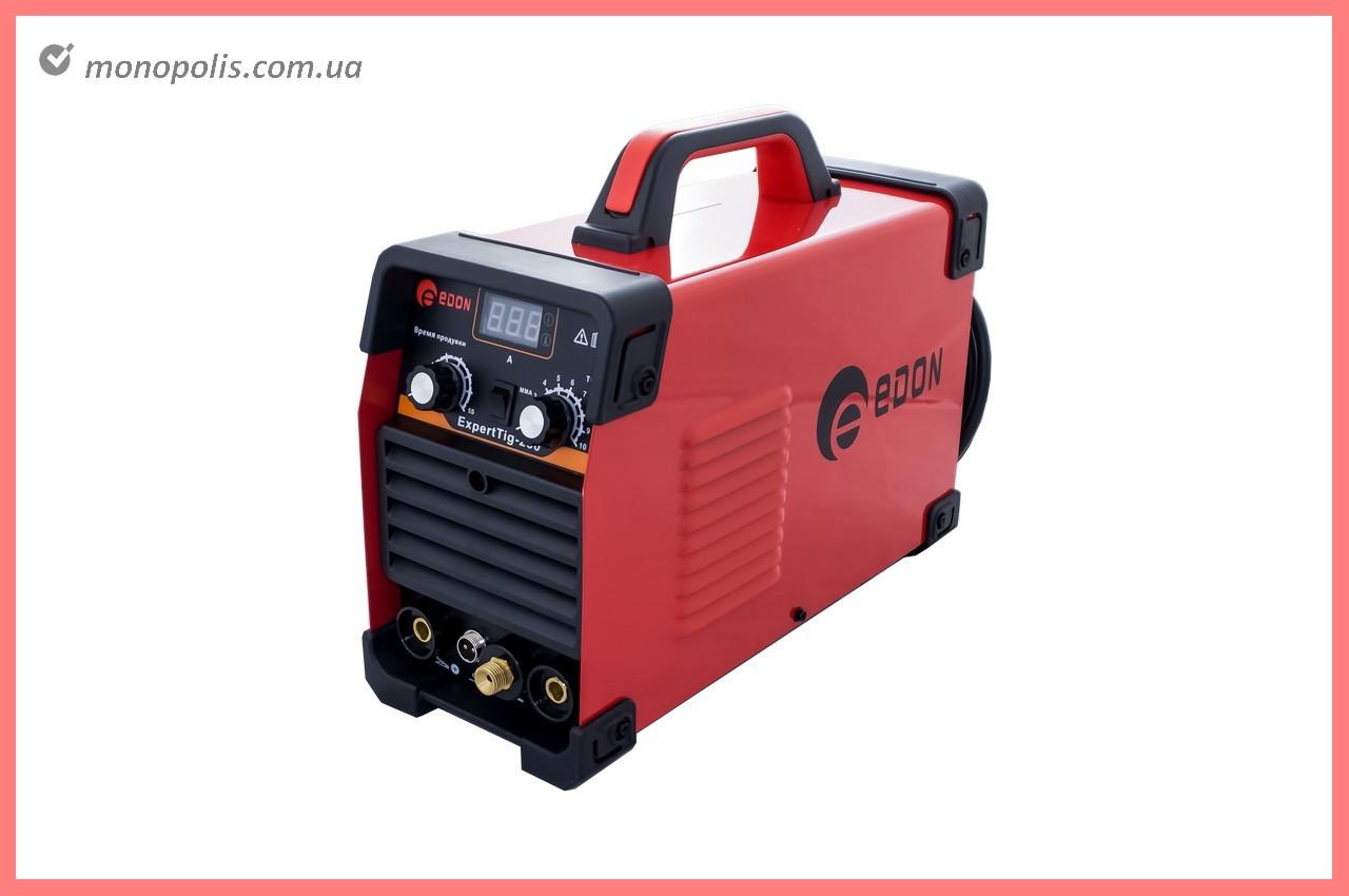Зварювальний апарат аргонно-дугового Edon - ExpertTig-250