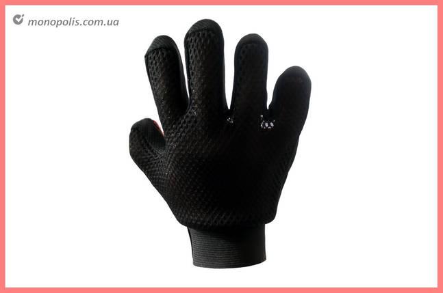 Перчатка для вычесывания шерсти PRC - True Touch на правую руку, фото 2