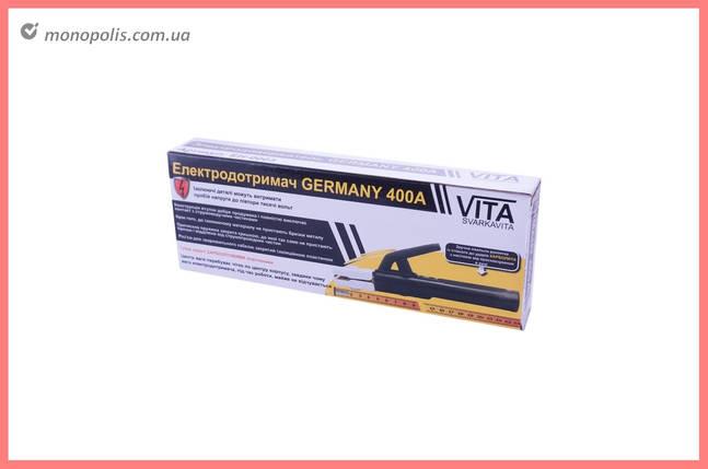 Электрододержатель Vita - 240 мм x 400А Germany, фото 2