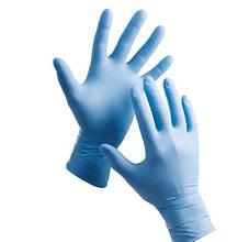 Перчатки нитриловые Medicom М неопудренные текстурированные 50 пар Голубые (MAS40033)