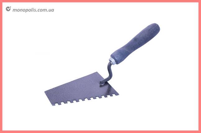 Кельма DV - 170 x 140 мм зуб 12 х 12 мм, фото 2
