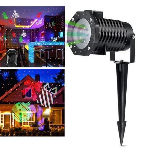 Лазерный проектор Star Shower projection outdoor light halloween YU120 лазерная подсветка дома