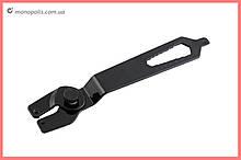 Ключ для зажима контргайки УШМ Intertool - 115, 125, 180, 230 мм