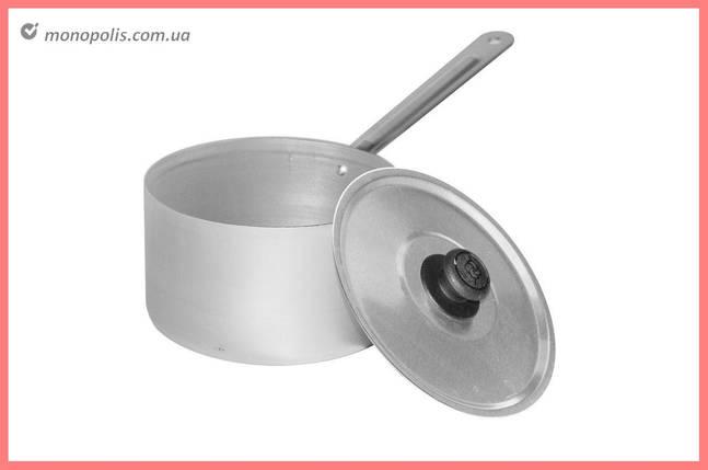 Сотейник алюминиевый Калитва - 1 л, с крышкой, фото 2