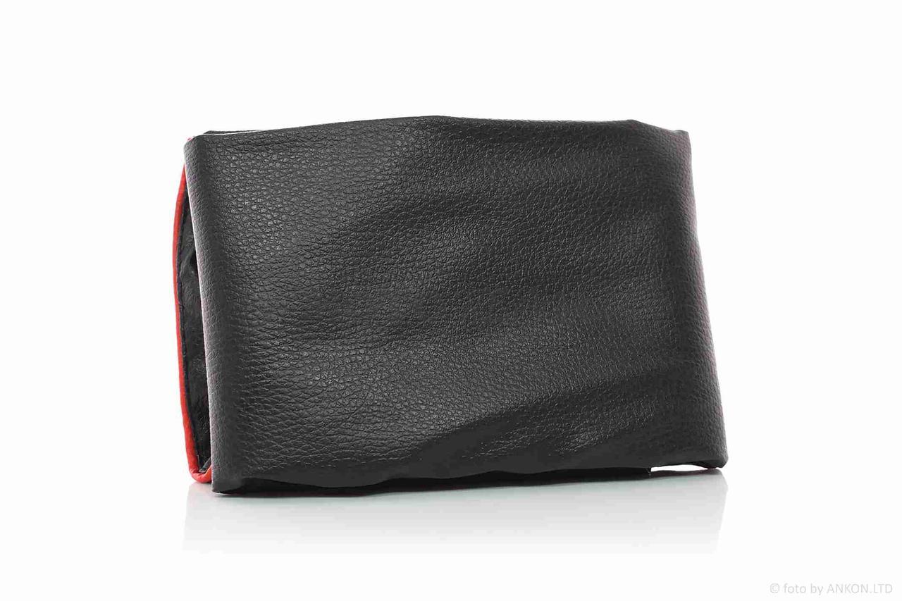 Чехол сиденья  VIPER F1/F50  (модель со спинкой)  черный, красный кант  JD
