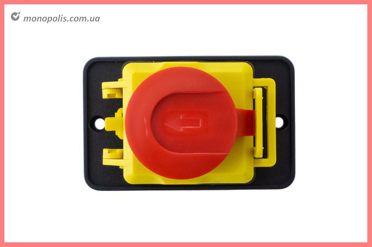 Кнопка бетономішалки Асеса - 4 контакту з кришкою