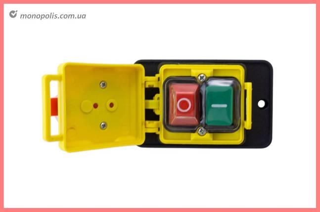 Кнопка бетономішалки Асеса - 4 контакту з кришкою, фото 2