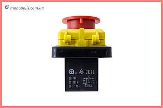 Кнопка бетономішалки Асеса - 4 контакту з кришкою, фото 3
