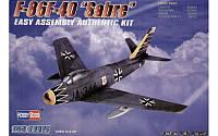 """Сборная модель Американского истребителя F-86F-40 """"SABRE"""" 1/72"""
