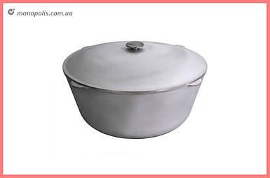Казан алюмінієвий Біол - 450 х 262 мм х 25 л, з кришкою