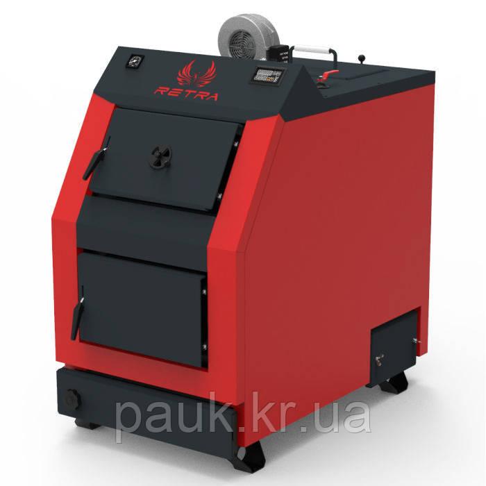 Котел РЕТРА-3М, 50 кВт твердопаливний сталевий