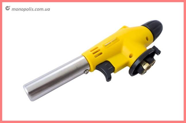 Горелка газовая c пьезоподжигом Сила - 175 мм, фото 2
