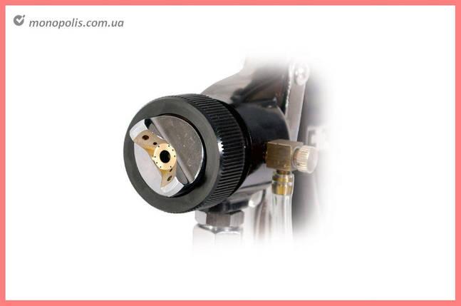 Пневмопистолет лакокрасочный HVLP Intertool - нижний бак 1000 мл x 1,5 мм, фото 2