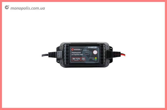Зарядний пристрій Intertool - 6В-12В x 2А, фото 2