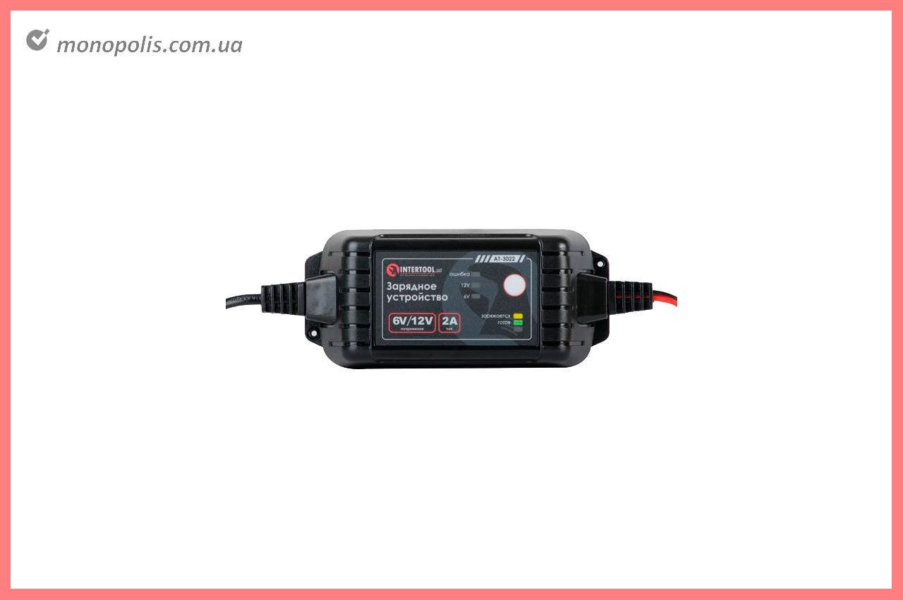 Зарядний пристрій Intertool - 6В-12В x 2А