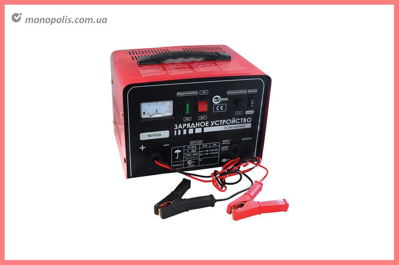 Зарядний пристрій Intertool - 12 - 24В x 20А