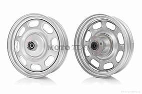 Диск колеса передний  10-2.50  железный, диск, d10, 19 шлицов