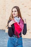 🔥ТОП!!! Большой красный кашемировый платок в клетку LEONORA, фото 4