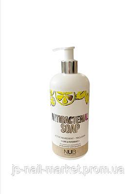 Антибактеріальне мило NUB Antibacterial soap Lime&Peppermint 500 мл