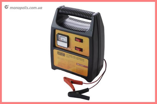 Зарядное устройство Сила - 6 В - 12 В x 12 А стрелочный индикатор, фото 2