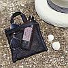 Набор из 2 шт сумочки-косметички для душа или пляж ORGANIZE (черный), фото 2
