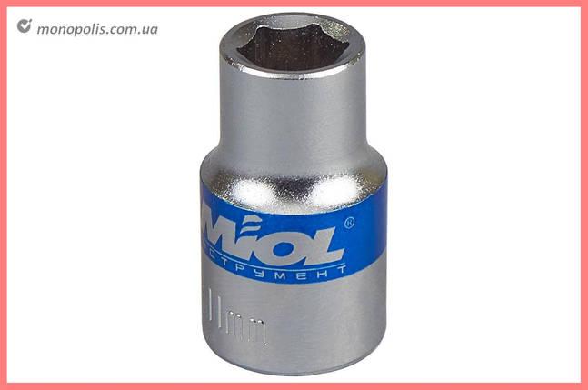 "Головка шестигранная 1/2"" Miol - 16 мм, фото 2"