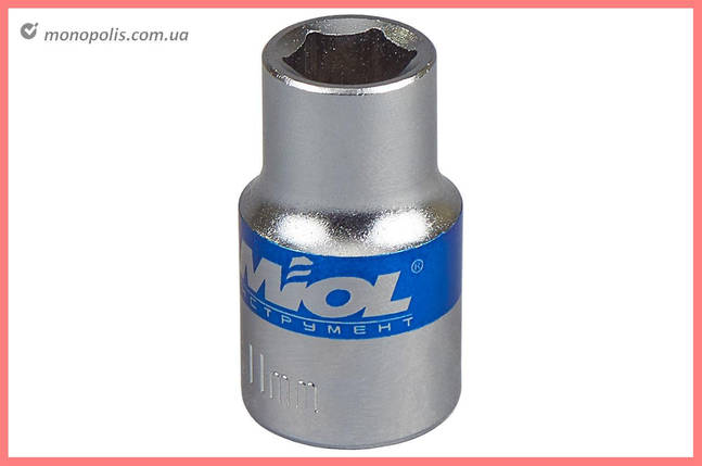 "Головка шестигранная 1/2"" Miol - 27 мм, фото 2"