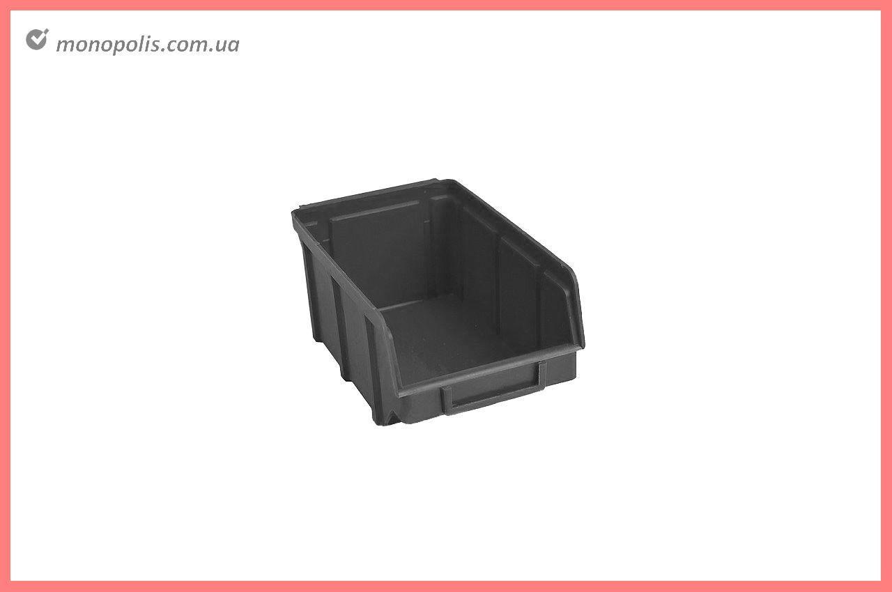 Ящик для метизов Wave - 155 х 100 х 75 мм, черный
