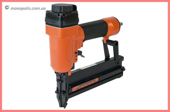 Степлер пневматический Miol - для скоб 10-40 мм и гвоздей 15-50 мм, фото 2