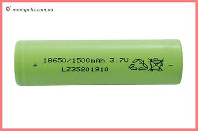 Аккумулятор 18650 Асеса - Li-Ion 1500 мАч x 3,7 В