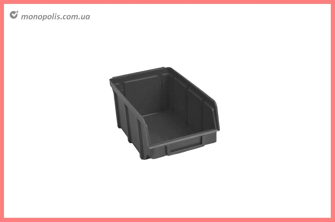 Ящик для метизів Wave - 230 х 145 х 125 мм, чорний