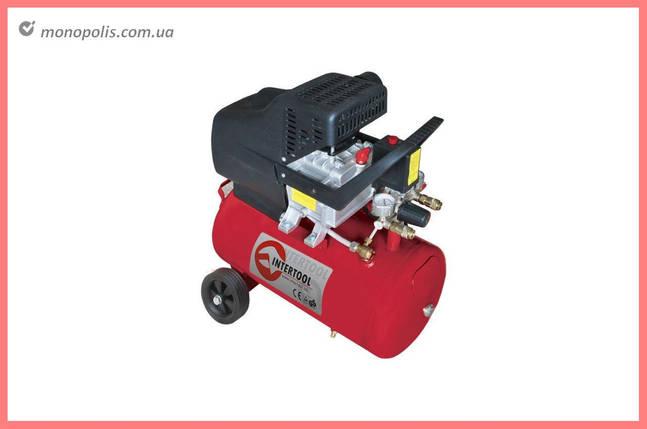 Компрессор Intertool - 24 л, 1,5 кВт, фото 2