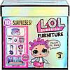 Игровой набор для девочек с куклой L.O.L. Surprise! Furniture 3 серия - Роллердром Роллер-леди .