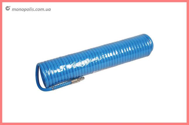 Шланг спиральный Miol - 15 м, 6,5 х 10 мм, полиуретановый, фото 2