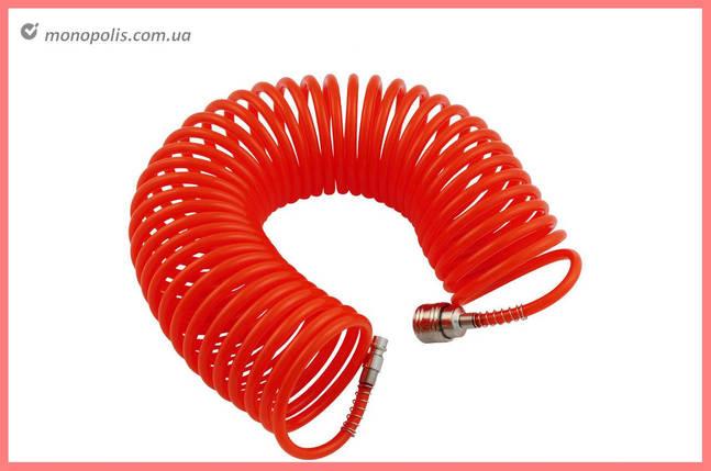 Шланг спиральный Housetools - 5 м, пластиковый, фото 2